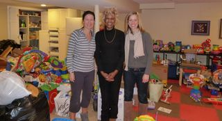 Short Hills toy drive-with Madge-Photo 1